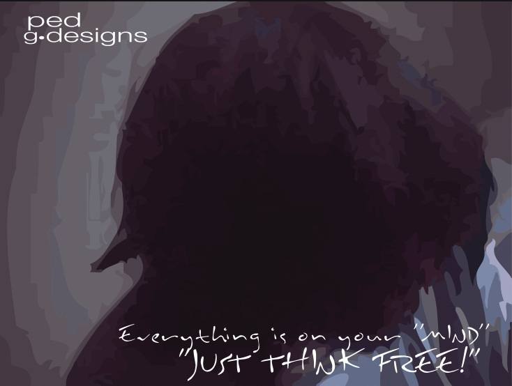 Just Think Free by ped-designs