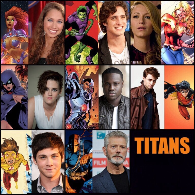 Teen Titans Cast 30