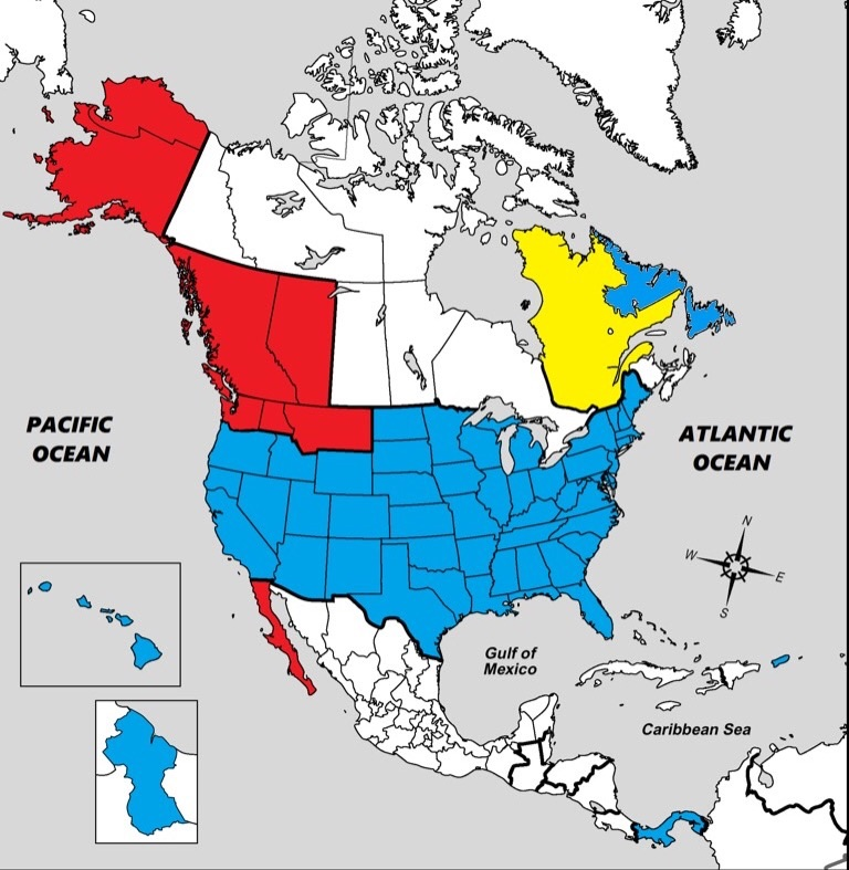 Future North America By NoSirAll On DeviantArt - Future map of north america