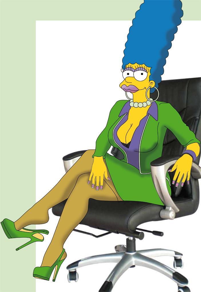 Marge simpson stockings