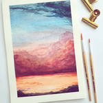 Endless Sunset by Schoerie