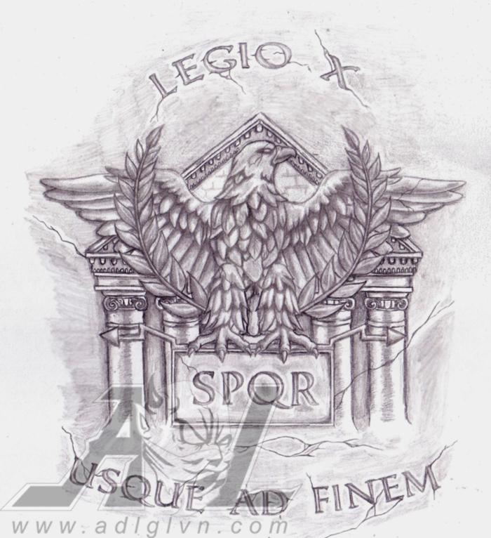 Legion Eagle by 71ADL1...