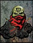 Adl paint skull