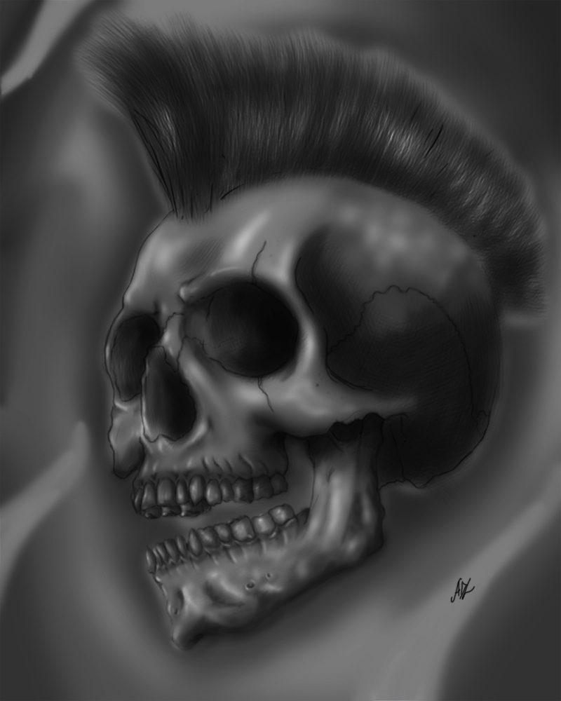 Mohawkskull 02 by 71ADL17