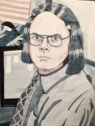 Dwight as meredith