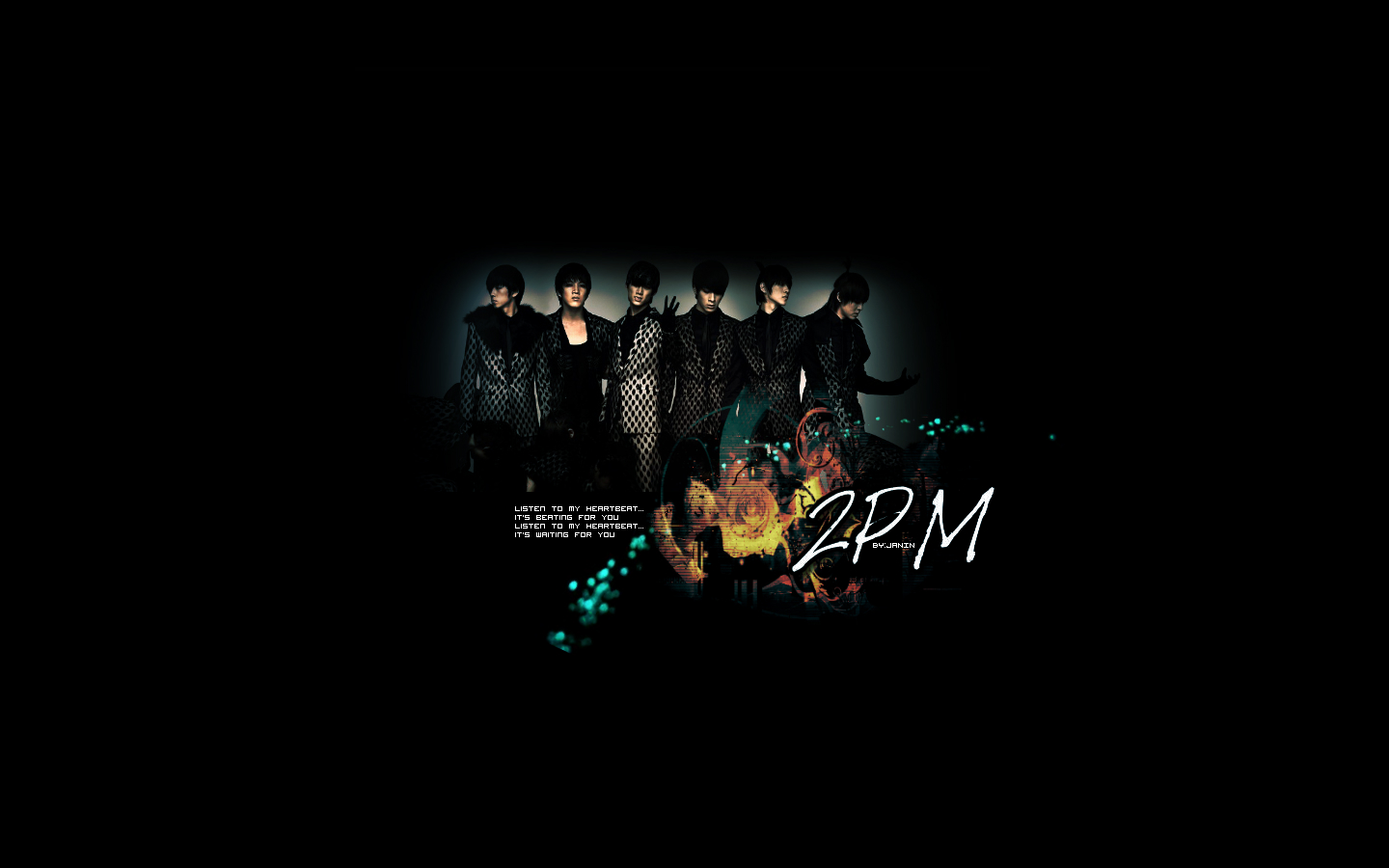 2PM_HEARTBEAT_WALLPAPER by janin2pm on deviantART