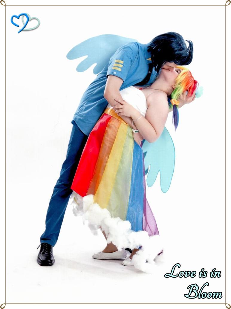 Soarin and Rainbow Dash Cosplay Canterlot Wedding2 by Senaris
