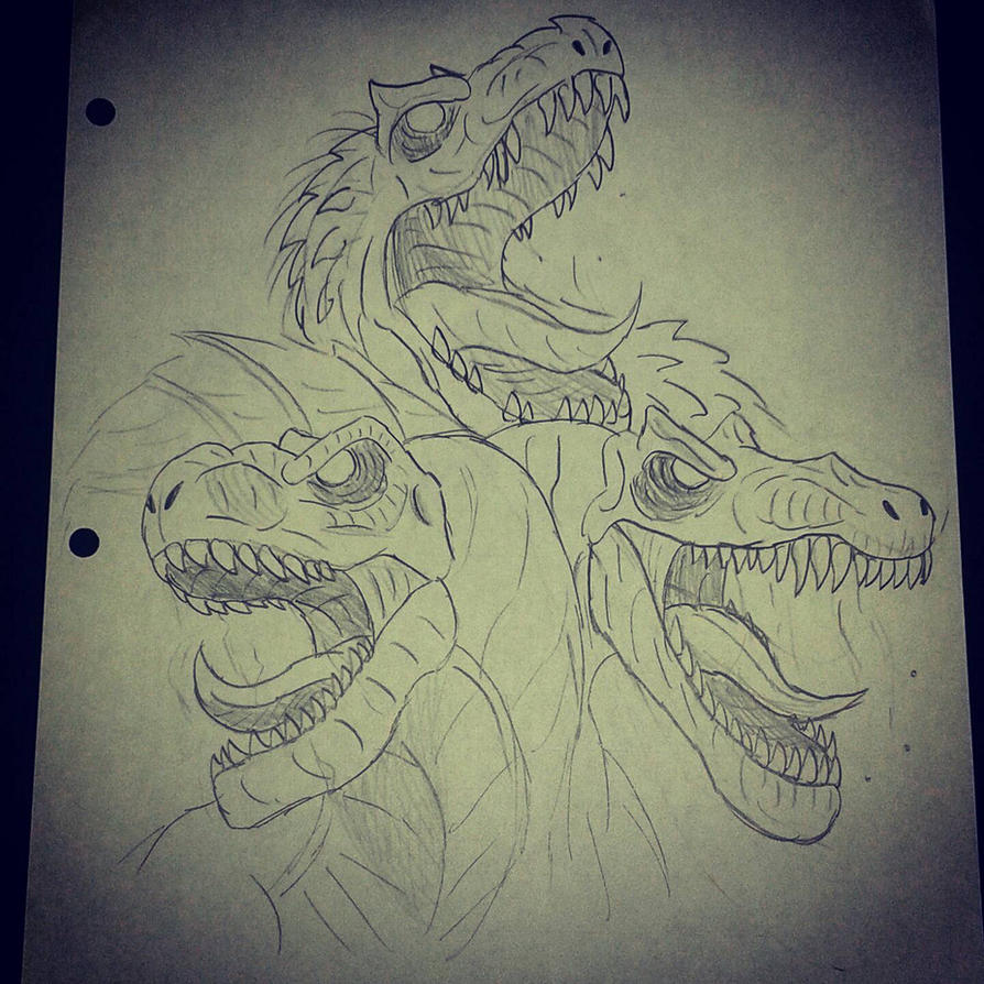how to draw the indominus rex