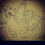 JURASSIC WORLD : Mosasaurus scene