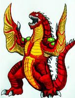 VEXONOS - The Evil Dragon Spirit by Erickzilla
