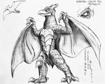 Godzilla : War Of The Monsters : Rodan File