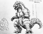 Godzilla : War Of The Monsters : Monsaros File