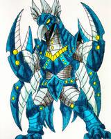 ZEIROCHI X - The Galactic Space Demon by Erickzilla