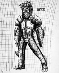 AKS : NEXT GENERATIONS : Typhon  by Erickzilla