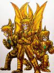 A Kaiju Story : King Ghidorah Brothers