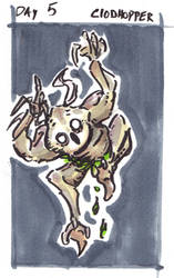 30characters - day 5 - the clodhopper by not-fun