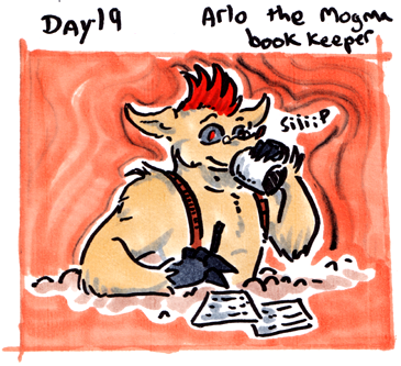 30characters - day 19 - arlo by not-fun