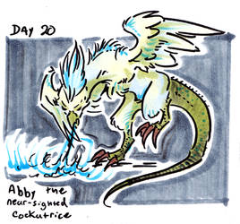 30characters - day 20 - abby by not-fun