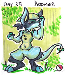 30characters - day 25 - boomer by not-fun