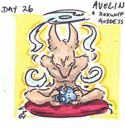 30characters - day 26 - avelin by not-fun