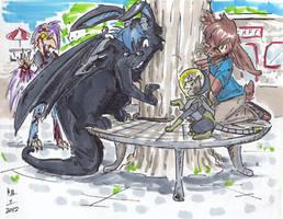 dragonbuttz by not-fun