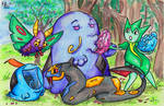 generation #3 poison pokemon by not-fun