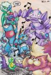 generation #4 poison pokemon by not-fun