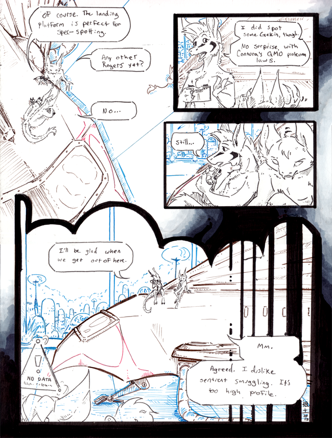 inhuman arc 10 pg 38 -inks stage- by not-fun