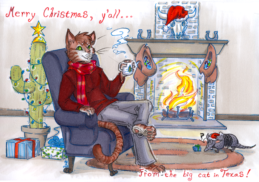 jacques is wishing you a merry one by not-fun