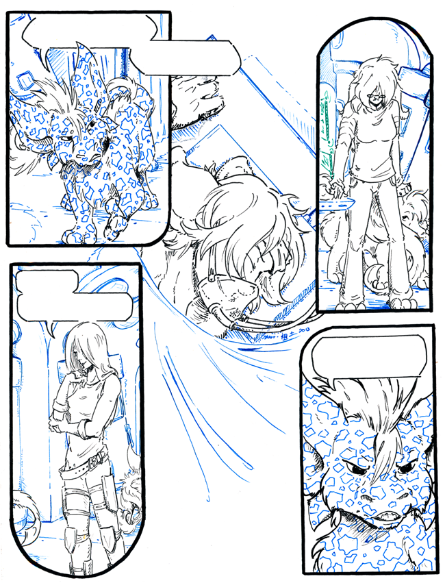 inhuman arc 12 pg 7 -inks stage- by not-fun