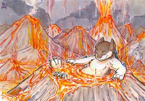 lava bath by not-fun