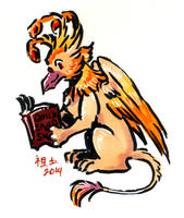 phoenix gryphon's book by not-fun