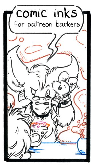 inhuman arc 13 pg 21 -inks- by not-fun