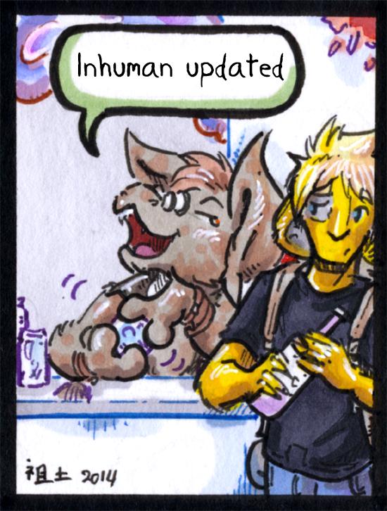 inhuman arc 13 pg 22 -link in desc- by not-fun