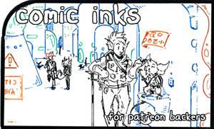 inhuman arc 13 pg 24 - inks stage