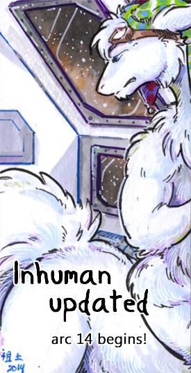inhuman arc 14 pg 1 -link in desc- by not-fun