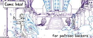 inhuman arc 14 pg 18 inks stage
