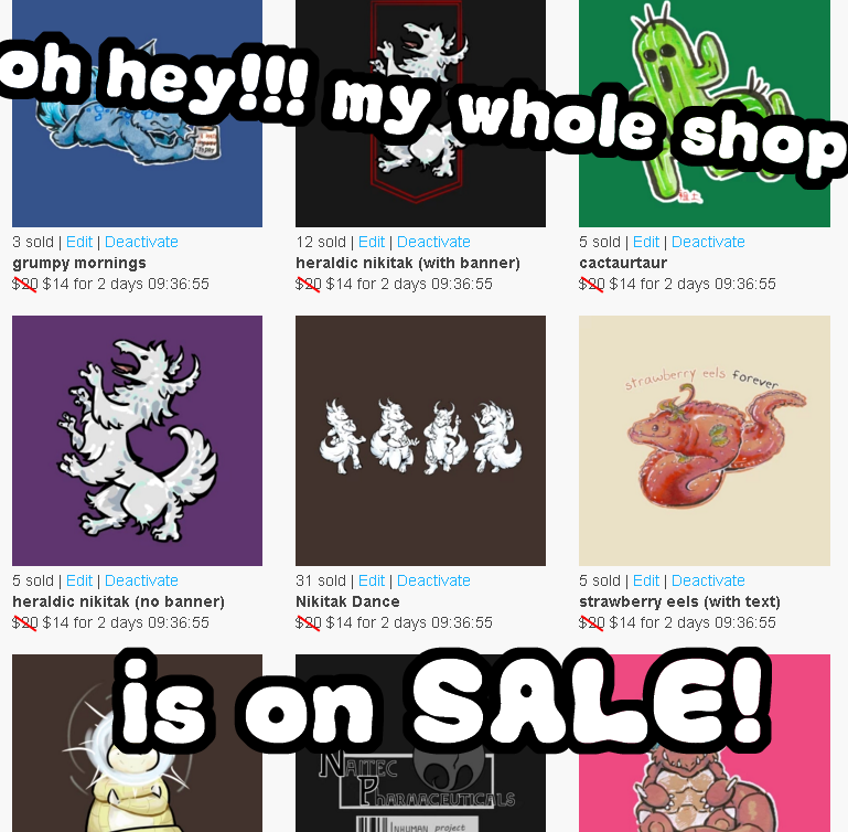 pokemon n inhuman merch is DISCOUNTED! by not-fun
