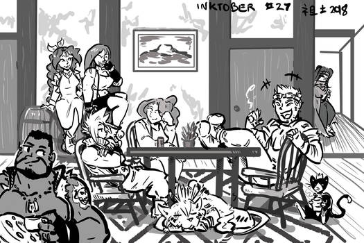 Inktober 27- You Kids Are Alright