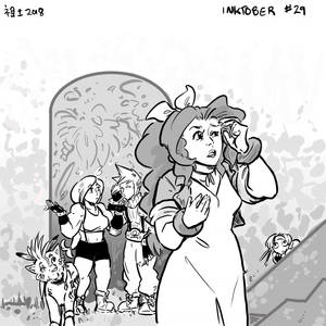 Inktober 29 - Should She Be Leading Us