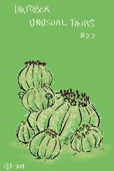 Inktober of Unusual Taurs #22 - cactus