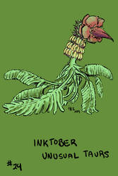 Inktober of Unusual Taurs #24 - banana