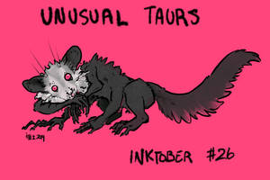 Inktober of Unusual Taurs #26 - ayeaye