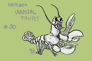 Inktober of Unusual Taurs #30 - lobster