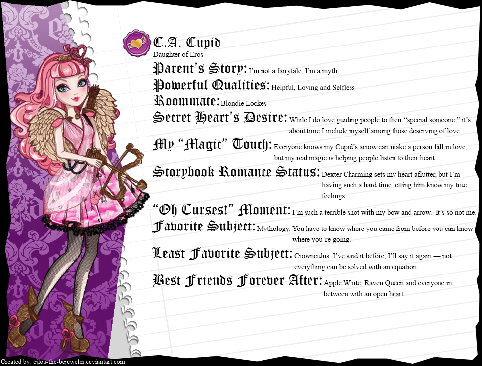 cupid ever after high ...