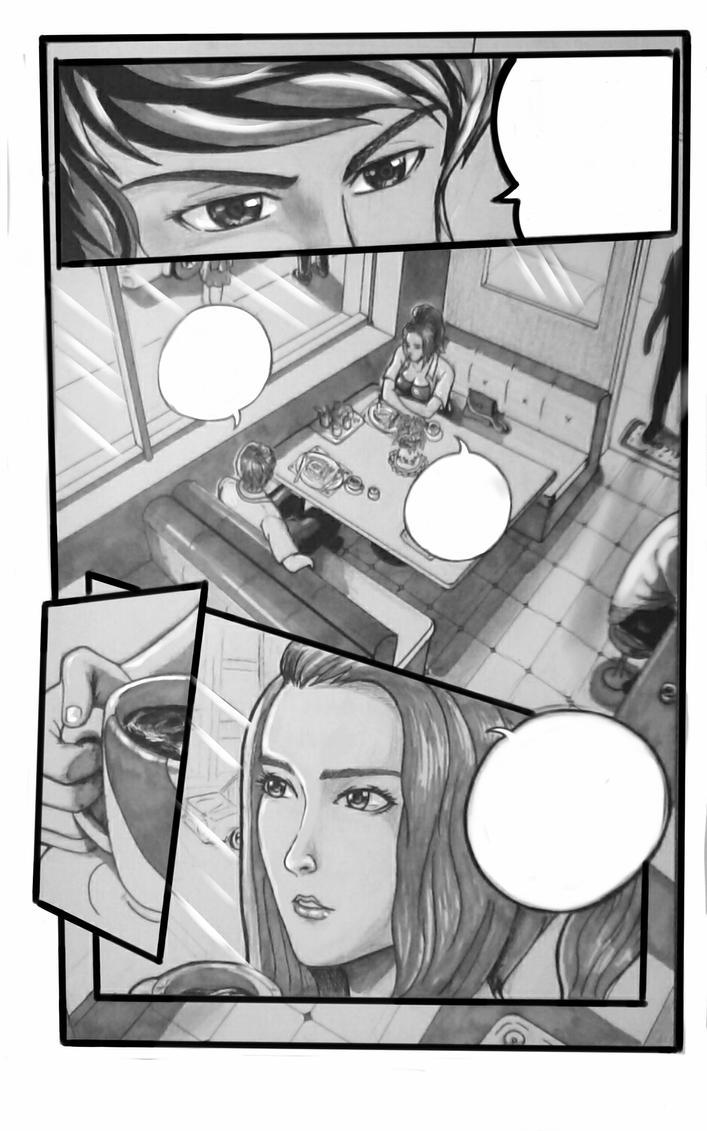 Speechless Manga by blueprince312