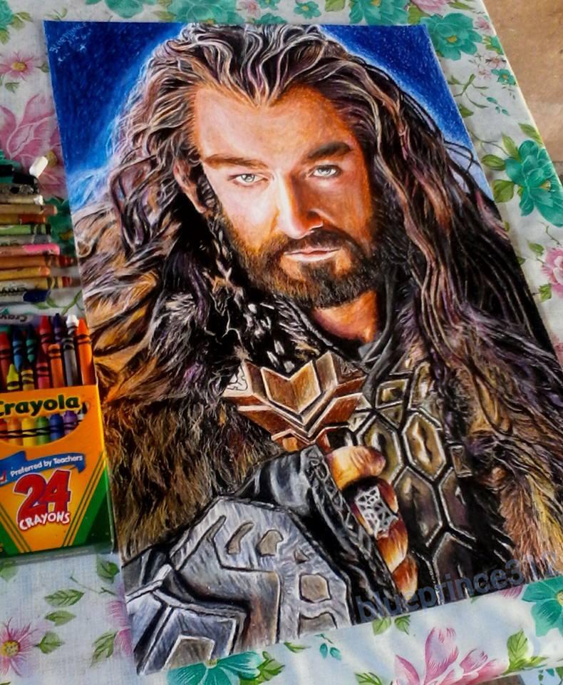 Thorin (Crayola Crayon by blueprince312