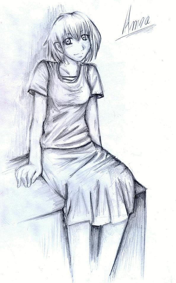 Amra in Pencil by Shinigami-chan02