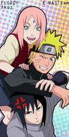 Naruto Team 7 by K-NASTeam
