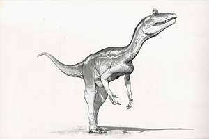 Draw Dinovember Day 22 Cryolphosaurus by daitengu